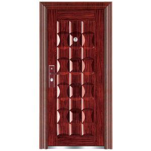 Steel Security Door (FX-A0191) pictures & photos
