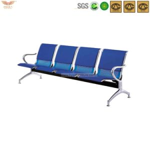 Hot Sale Green Stainless Steel Pubilc Waiting Chair with Pad pictures & photos
