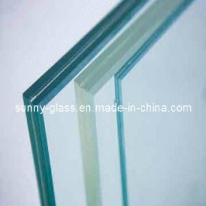 6+0.38+6mm Clear PVB Laminated Safety Glass for Window pictures & photos