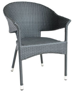 Garden Cafe Wicker Furniture Outdoor Rattan Dining Chair (BZ-CR013)