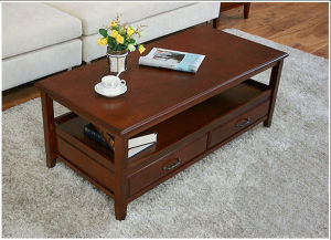 Coffee Table/Rubber Wood Table/Wooden Table (H-H0222)