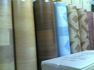 Foamed PVC Flooring 2.0mm*2.0m*20m/Roll pictures & photos