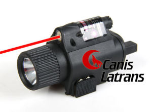 Tactical M6 Flashlight with Red Laser Sight for Hunting pictures & photos
