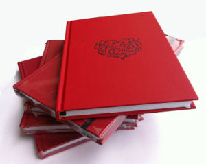 Red Colour Leather Hard Cover Notebook (YY--N0254) pictures & photos