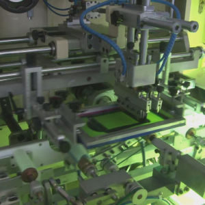 Fully Automatic UV Silk Screen Printer pictures & photos
