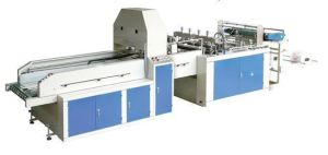 Automatic High Speed Double Line T-Shirt Bag Making Machine (GDFR-400*2) pictures & photos