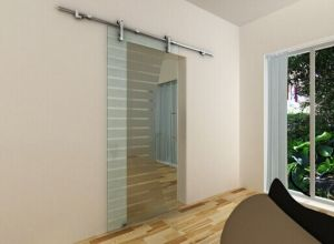 Bathroom Glass Sliding Door Accessories Sdg001 for Shower Room pictures & photos