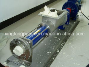 Xinglong Sanitary Cavity Single Screw Pump Used in Fruit Juice Process pictures & photos