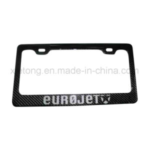 Carbon Fiber Auto Parts Licence Plate Frame pictures & photos