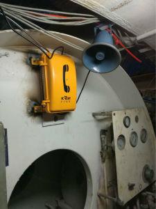 Waterproof IP Telephone Knsp-08 Emergency Phone Heavy Duty Telephone with Keypad pictures & photos