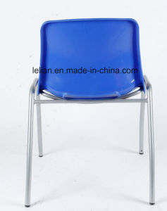 Outdoor Plastic Stacking Metal Chair (LL-0009) pictures & photos