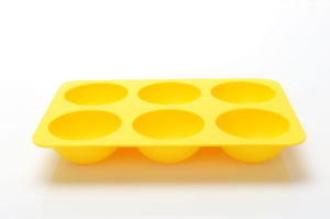 Food Grade Non-Stick 6 Cavity Half Ball Shape Chocolate Molds, Silicone Ice Tray pictures & photos