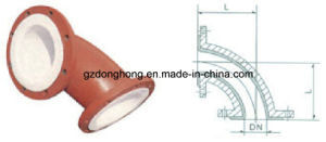 PTFE Joint/ Plastic Products/Teflon Inside Corrugated Compensator pictures & photos
