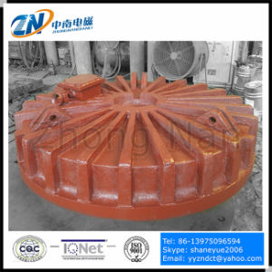 Dia-1200 mm Circular Cast Body Lifting Electromagnet for Ship Yard Cmw5-120L/1 pictures & photos