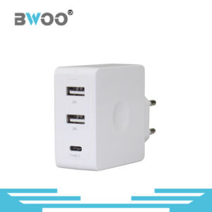 Universal UK/EU/Us Type-C Multi-USB Mobile Charger pictures & photos