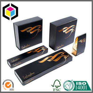 Luxury Gold Hair Extension Cardboard Paper Gift Packaging Box pictures & photos