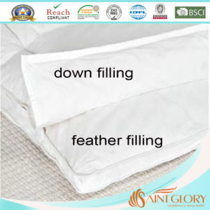 Duck Down&Feather Dual Detachable Mattress Topper pictures & photos