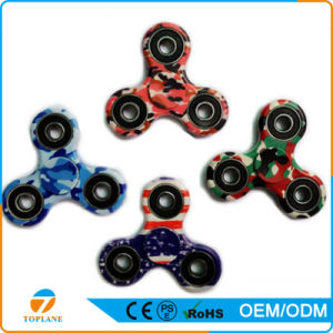 Decompression Funny Gift Camouflage Color Hand Spinner pictures & photos