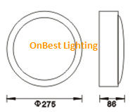 Hot Sales LED Wall Light 18W SMD LED in IP65 pictures & photos