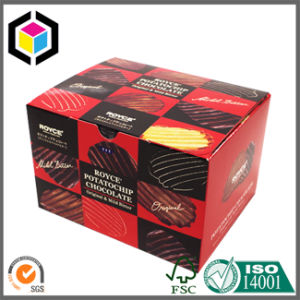 Colorful Four Corner Setup Food Grade Donuts Paper Packaging Box pictures & photos