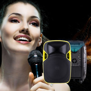 Cheapest Portable Rechargeable Speaker with Projector and Screen pictures & photos
