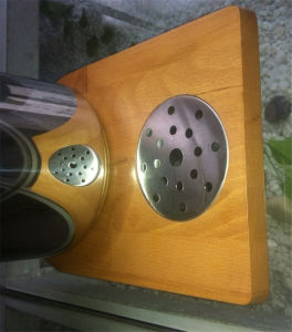 Juice Dispenser with Beech Wood for Keeping Juice (GRT-AT90315-2) pictures & photos