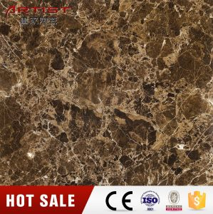 Stone Look Brown Color Glazed Porcelain Tile Indoor Tile pictures & photos