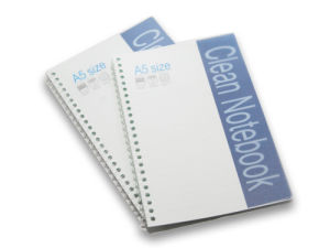 Cleanroom A5 Notebook with Spiral pictures & photos