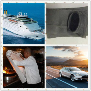 Hot Sale Basalt Fiber Fireproof Fabric for Building Road Boat pictures & photos