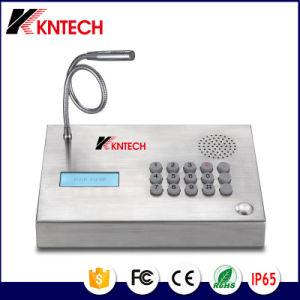 Desk Phone Control Room Intercom Knzd-59 Kntech pictures & photos