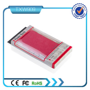 Leather Case 8000mAh Dual USB Power Bank pictures & photos