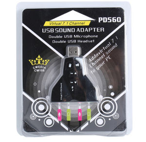 USB 7.1 Sound Card pictures & photos