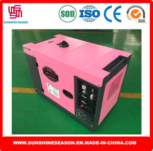 Diesel Power Generator Air Cooled 5kw Super Silent Type (SD7000ES) pictures & photos