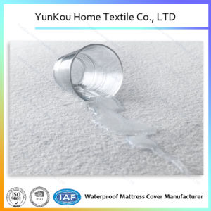 High Quality Cotton Terry Fabric Waterproof Mattress Cover pictures & photos