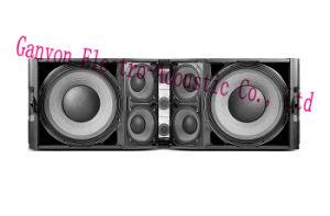 "Vtx25 Speaker, Dual 15"" Hot Sale 3-Way Line Array Loudspeaker V25 pictures & photos"