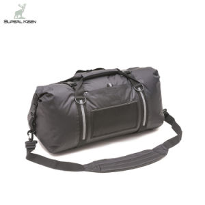 75 L Black 100% Waterproof Duffel Bag pictures & photos