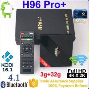 Wholesale Android Smart TV Set Top Box H96 PRO Amlogic S912 8cores TV Box pictures & photos