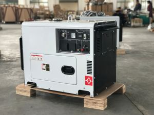 Diesel Generator 6000W with ATS pictures & photos