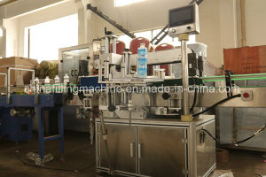 High Technology Vertical Adhesive Labeling Machinery with Ce Certificate pictures & photos