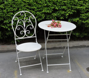 Metal Patio Table Set for Outdoor Use pictures & photos