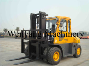 7ton Diesel Fork Lift with Cabin pictures & photos