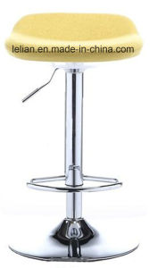 Swivel Fabric Bar Stool for Bar Furniture (LL-BC042) pictures & photos
