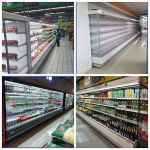 Environmental Refrigerant Energy Saving Refrigerator, Supermarket Shelves pictures & photos