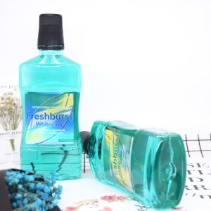 Antibacterial Freshburst Whitening Mouthwash Fresh Breath pictures & photos