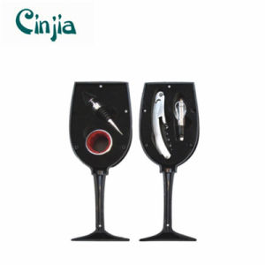 4PCS Goblet Metal Bar Utensils Wine Set pictures & photos