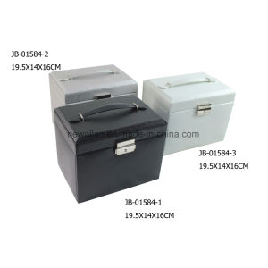 Hot Sales Leather Jewelry Storage Box Gift Jewelry Box pictures & photos