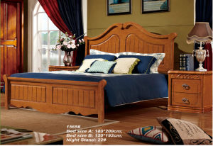 Ikea Furniture, Wooden Bed for Bedroom Furniture (1565) pictures & photos