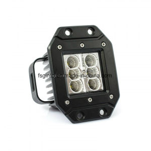 Jeep Accessories Flush Mount CREE 24W LED Work Light (GT1022A-24W) pictures & photos
