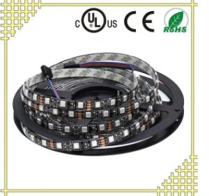 RGB LED Strip Light with Black Background pictures & photos