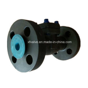 High Pressure 1500lb 2500lb Forged Steel A105 Flange Check Valve pictures & photos